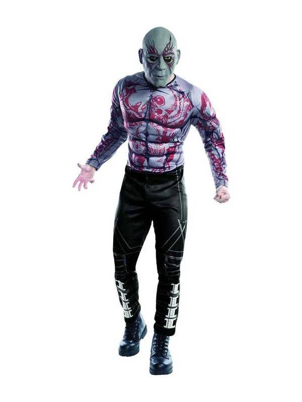 Men's Drax Guardians Of The Galaxy Costume Front