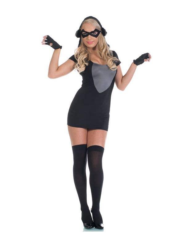 87a543fd97a Women s Naughty Raccoon Fancy Dress Costume