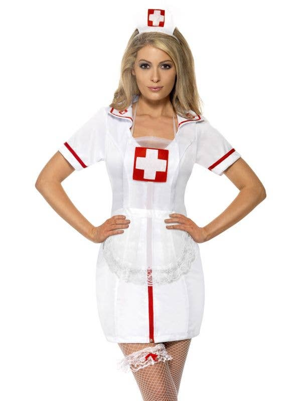 Naughty Nurse Costume Accessory Kit for Women