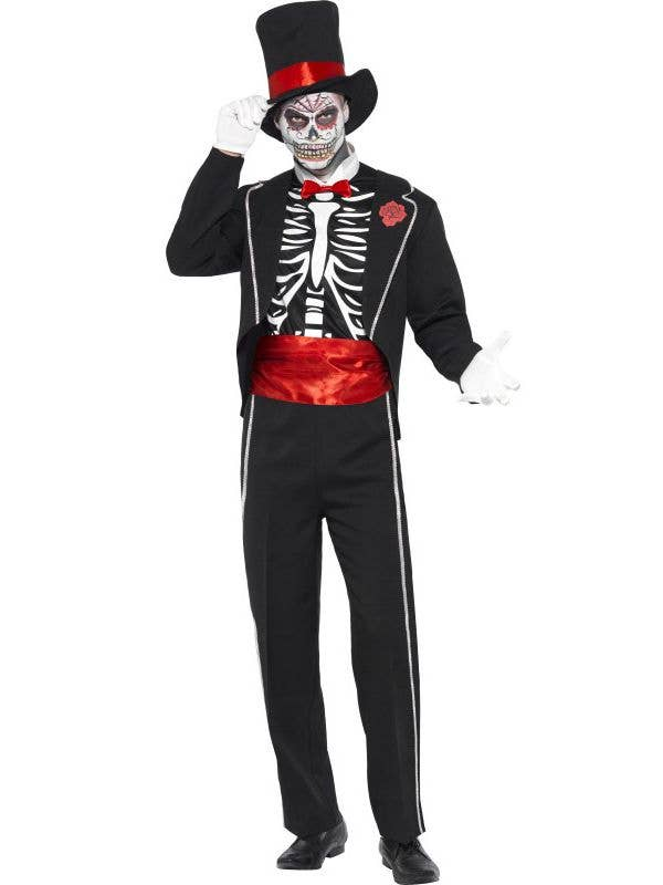 6df835605 Mexican Halloween Costume Suit   Men's Day of the Dead Costume