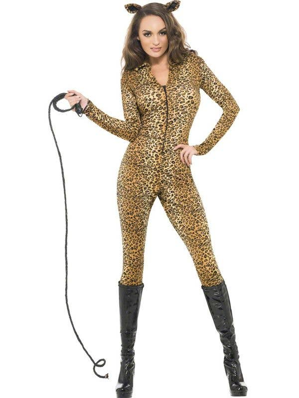 da438d1035 Leopard Print Whiplash Sexy Women s Costume
