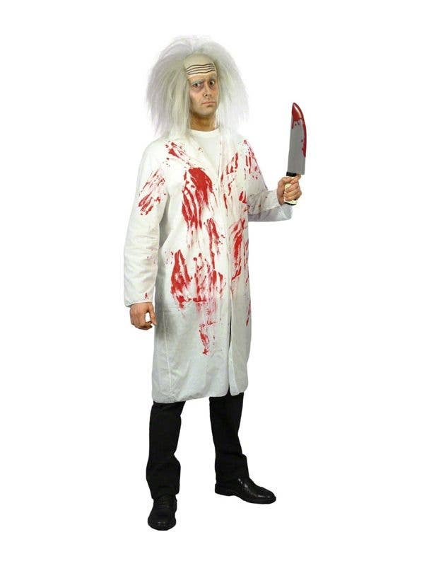 3546c5bc851 Blood Stained Doctors Coat Cheap Halloween Costume