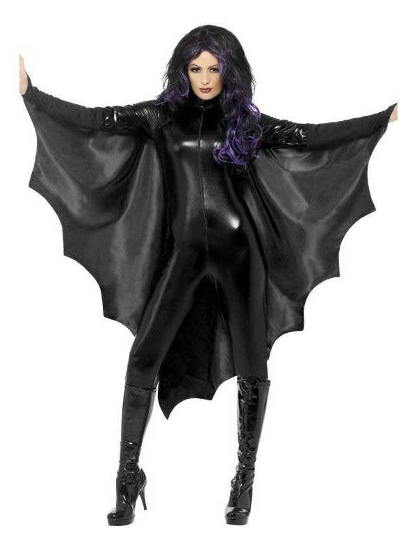 vampire bat halloween costume cape