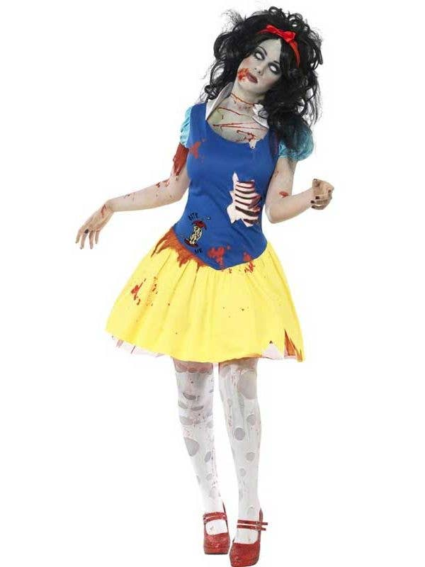92860e9396f97 Snow Fright Zombie Women's Costume