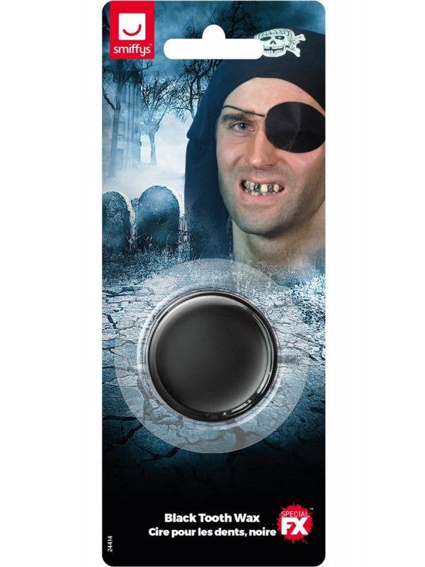Black Out Tooth Wax FX Make-Up Paint Package Image