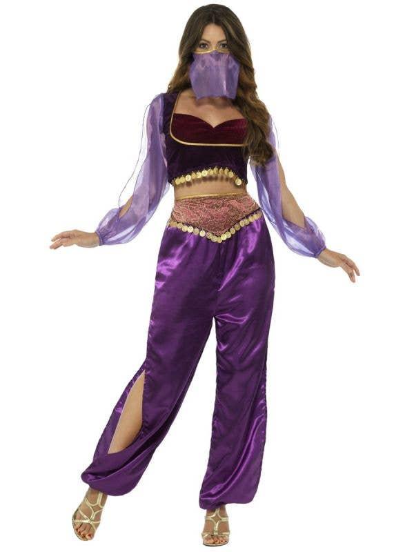 Women's Sexy Arabian Princess Costume - Front