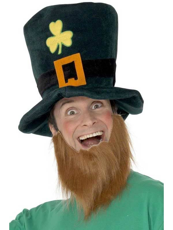 Leprechaun Hat and Beard  59601a5fd3c7