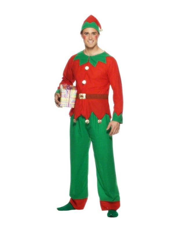60e2a6eb61 Men s Cheap Christmas Elf Costume