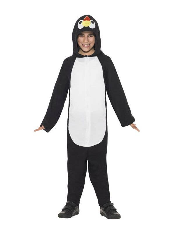 ed0ce75c7454 Kid s Penguin Animal Onesie Book Week Costume Front