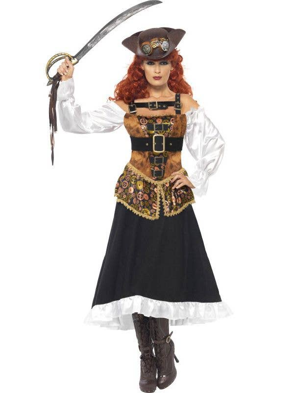 Steampunk Victorian Pirate Wench Women's Costume