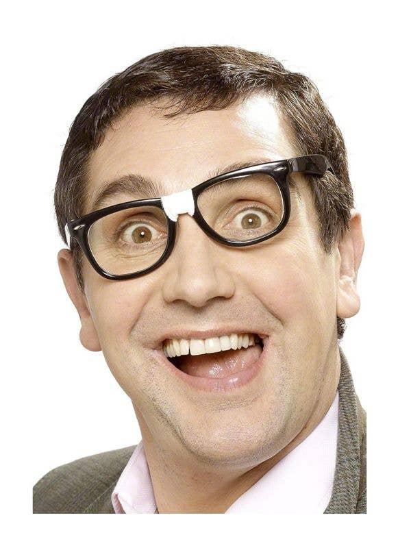 50e638bb09d Black Geek Specs with Plaster