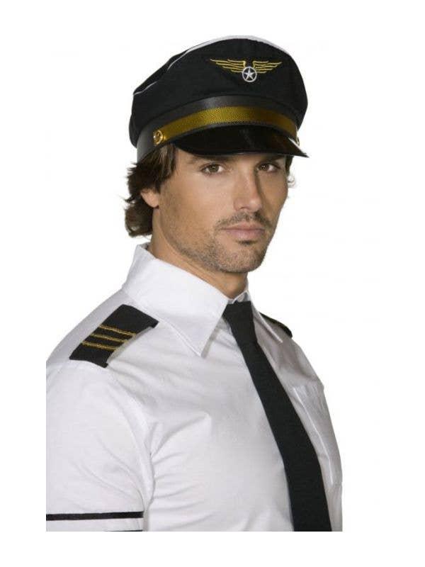 bd3dc31f300 Airplane Captain Pilots Hat