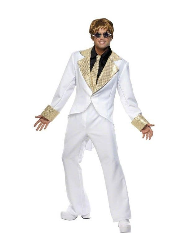 Elton John Christmas Outfit.Elton John Costume 70 S Rocket Man Men S Fancy Dress Costume