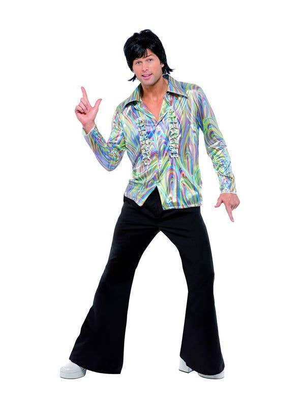 70 S Disco Dude Men S Costume Groovy Dancer Fancy Dress Costume