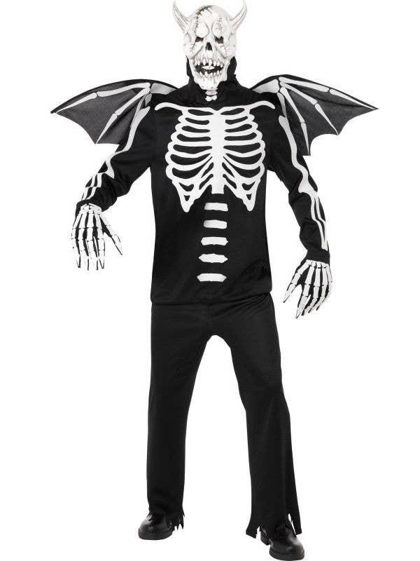 demon bones mens gargoyle halloween costume