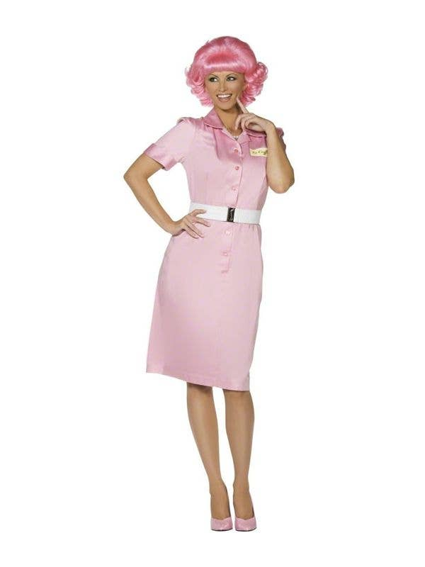 womens pink ladies frenchie grease costume adult grease
