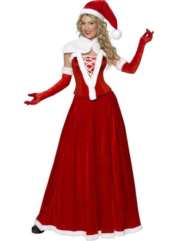 711c673a7f3d1 Luxury Miss Santa Christmas Costume