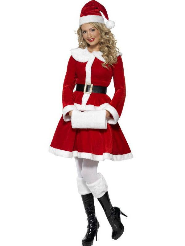 5a2a147a77a Miss Santa Women s Christmas Costume