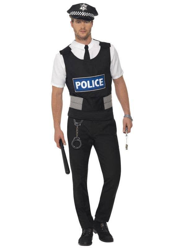 Instant Police Officer Uniform Costume for Men Image 1