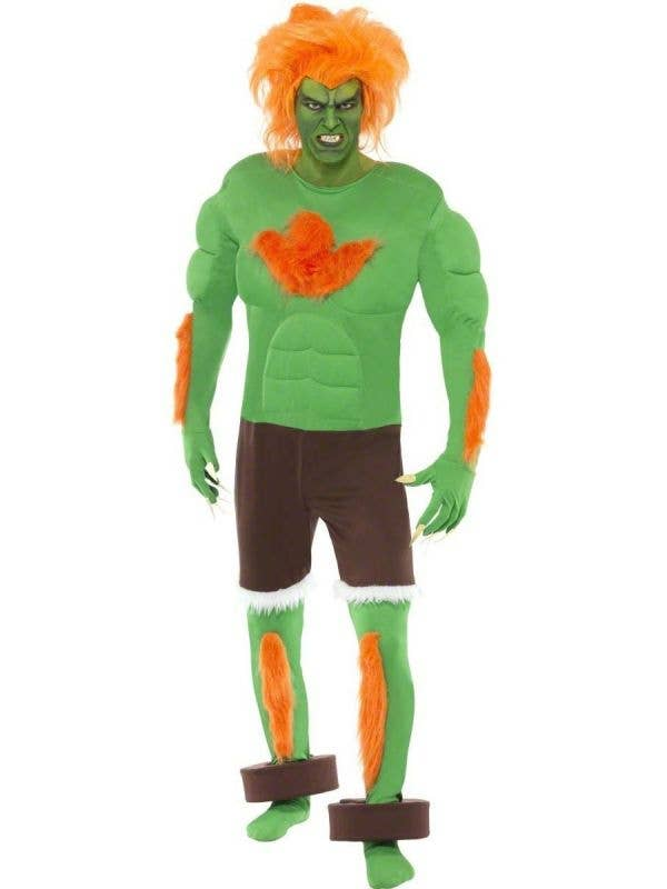 Blanka Men's Street FIghter Costume Main Image