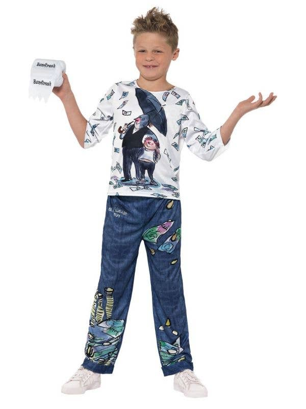 Billionaire Boy David Walliams Boy's Book Week Costume Main Image