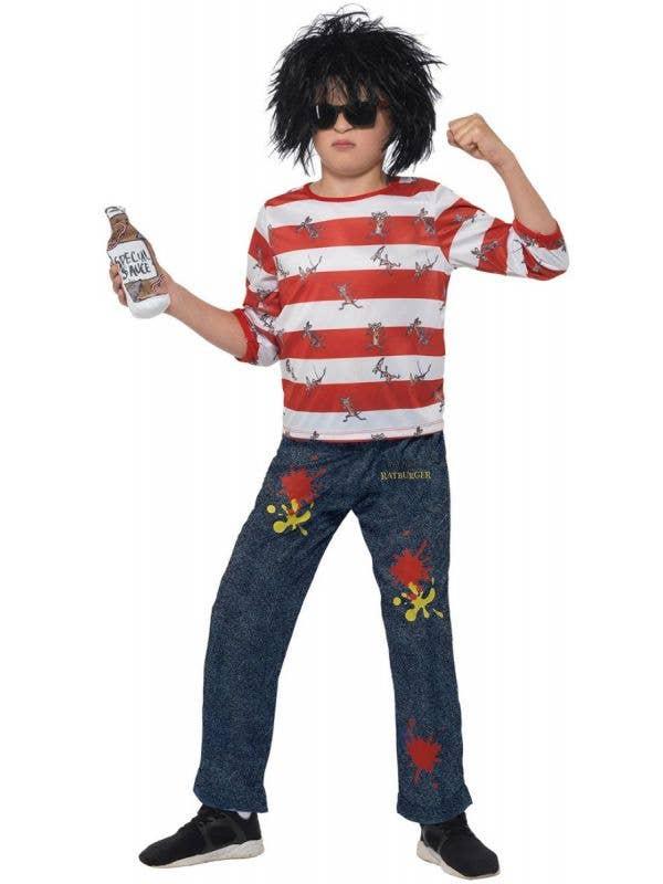 David Walliams Ratburger Bot's Book Week Costume Main Image