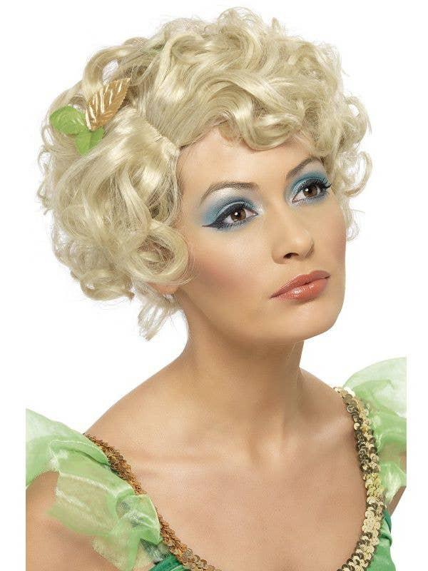 Short Blonde Curly Fair Wig  fd644488a6