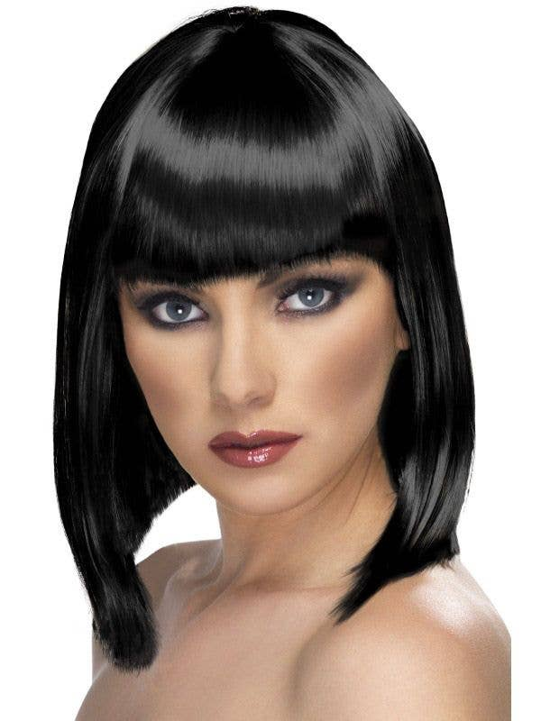 Glam Short Black Costume Wig 451f1d515b0e