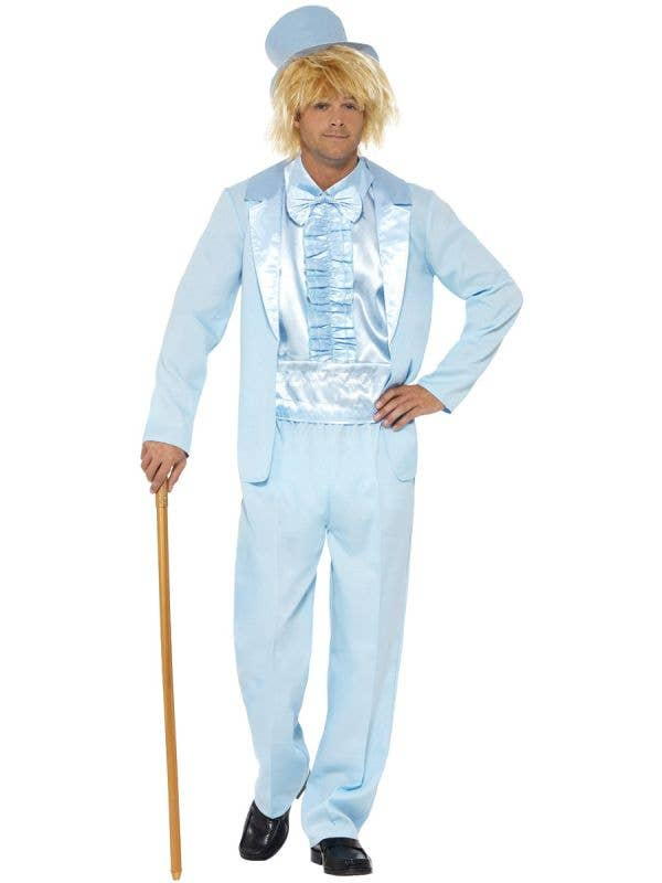 Men's Blue Dumb and Dumber Harry Dunne Costume  - Main Image