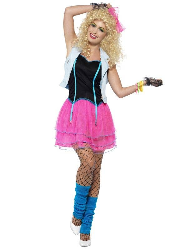 Wild Girl Women's 80's Party Costume Main Image