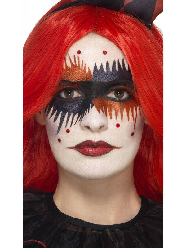 Smiffys tainted harlequin halloween makeup kit - Main Image