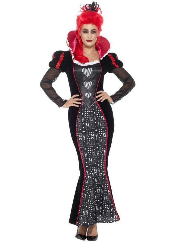 Dark Queen of Hearts Women's Costume Front Image