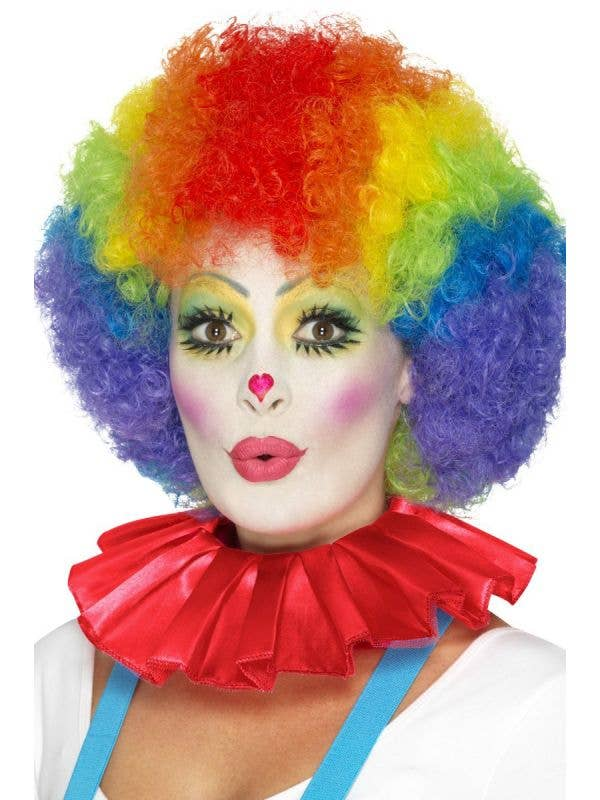 Clown Neck Ruffle Front Image
