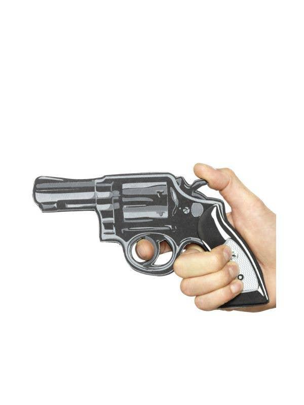 Flat 2D Cartoon Pistol Gun Costume Accessory Weapon