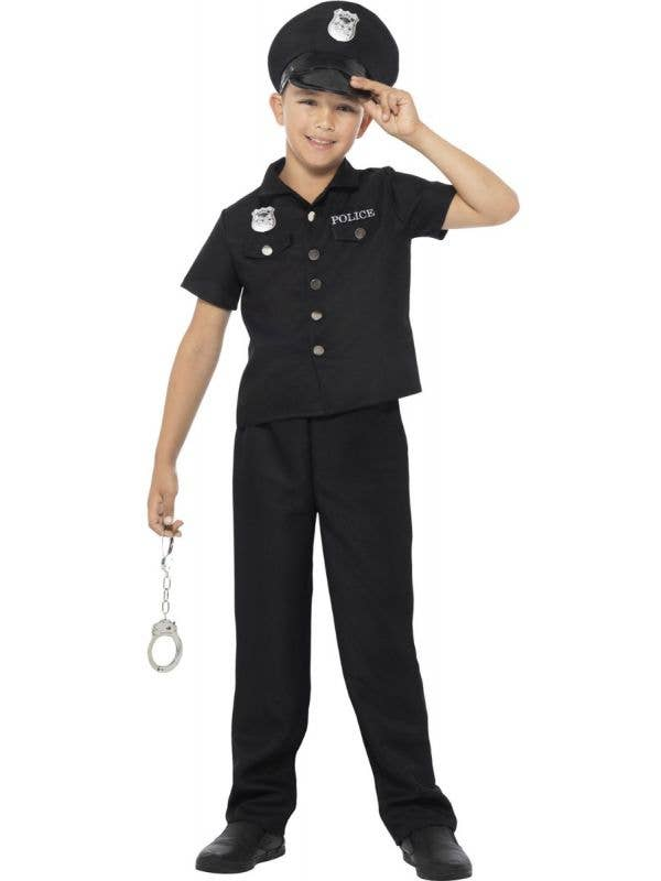 New York Police Costume Boy's  - Front