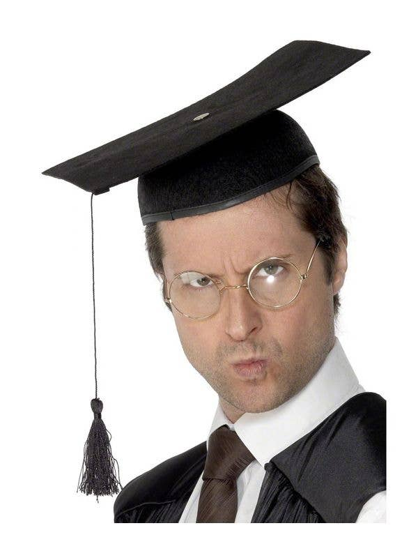 Mortar Board Black Graduation Hat Adult S Black Mortar