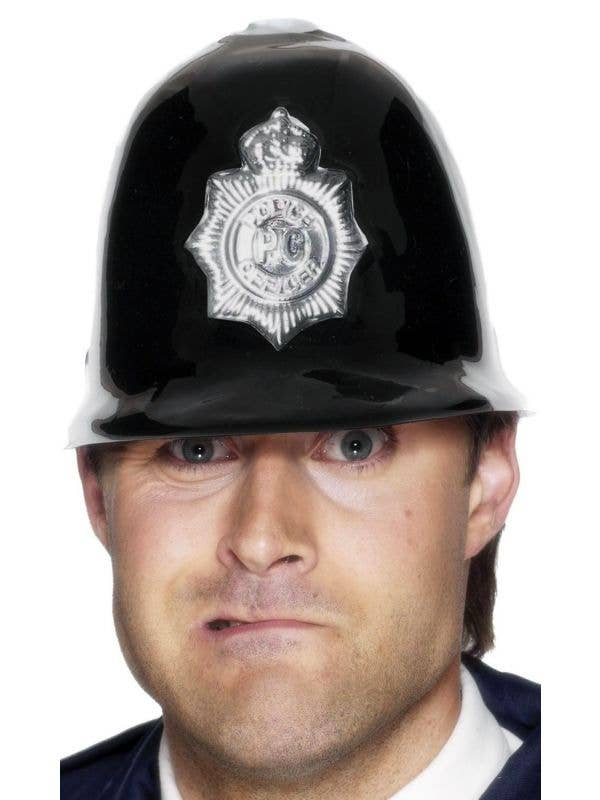 Budget Adult's Black British Police Constable Costume Accessory Hat