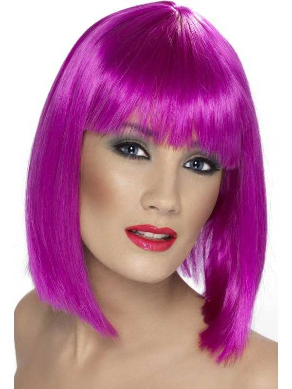 Neon Purple Wig  5e851ad9d