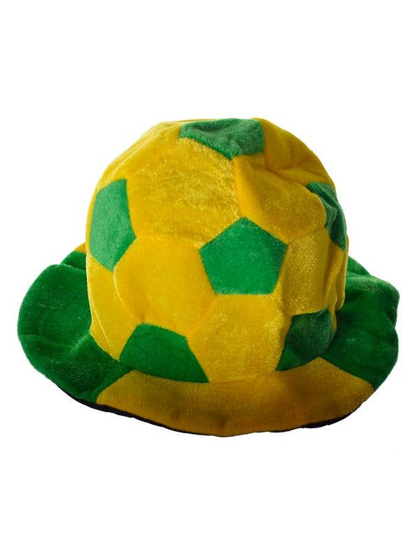 74ba008eab6 Aussie Green and Gold Soccer Ball Bucket Hat