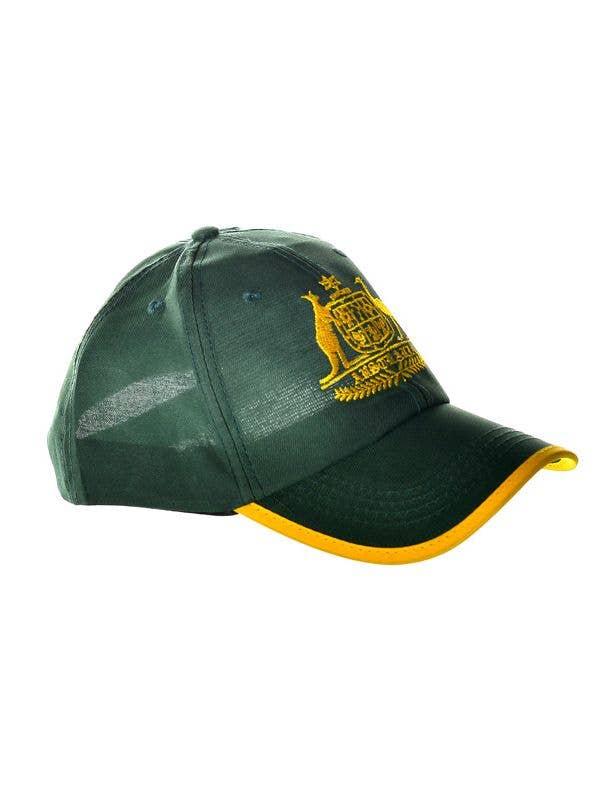 Aussie Green and Gold Cricket Cap  8972746de9d7