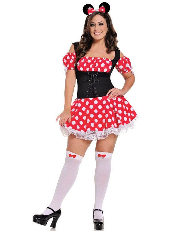 Disney Costumes Mickeys Mistress Sexy Plus Size Minnie Costume
