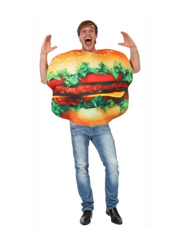 Adult's Hilarious Burger Fancy Dress Costume