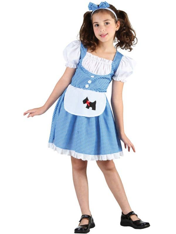 No Place like Home Girls Wizard of Oz Dorothy Fancy Dress Costume Main Image