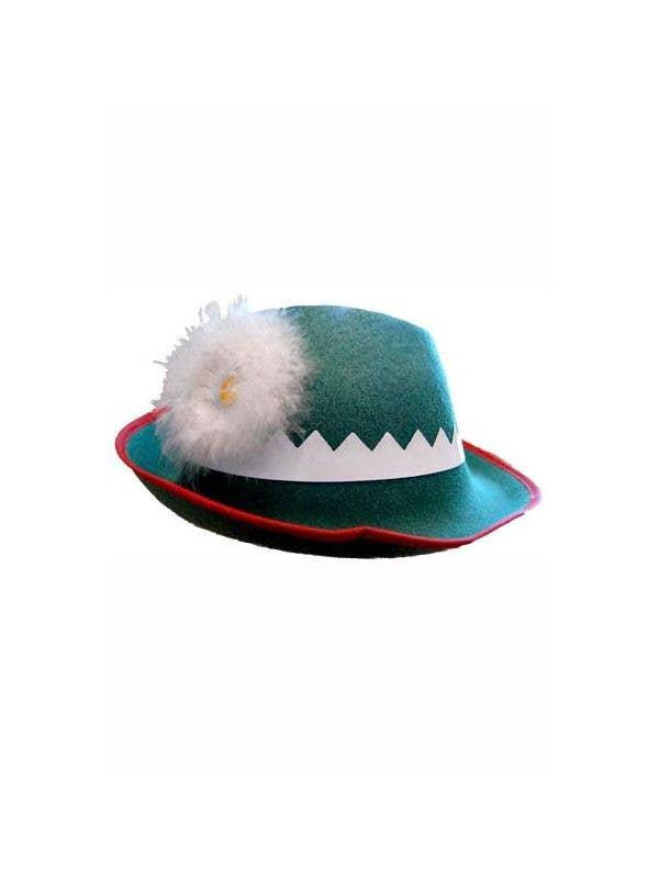 142cedd7c89dbc Adults Green German Oktoberfest Hat | Green German Costume Hat