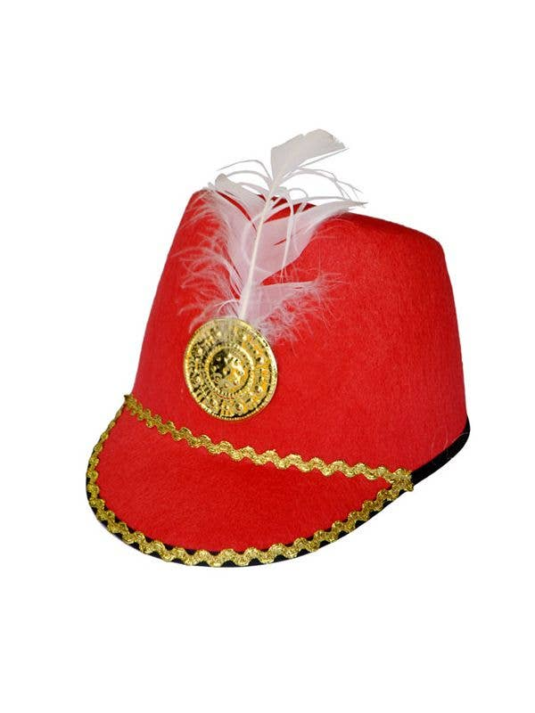 570f25363a108 Blue Red Drum Major or Toy Soldier Hat