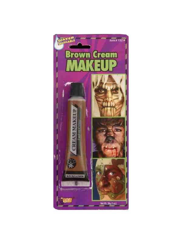 forum novelties brown cream makeup special fx - Main Image