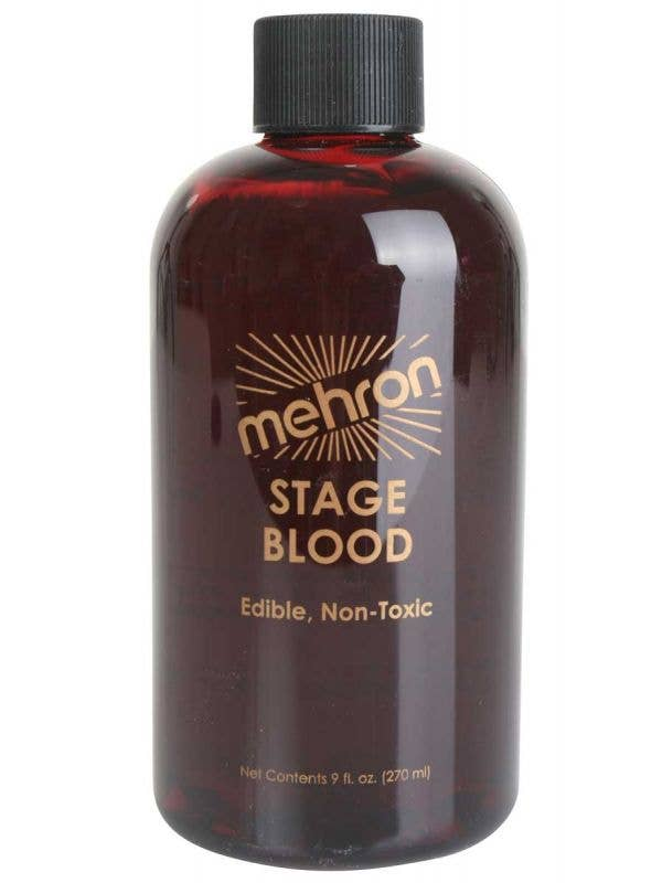 270ml Of Bright Red Mehron Syrup Based Halloween Stage Blood