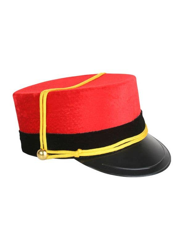 Red Novelty Bellhop Costume Hat  eca3bc0ab08c