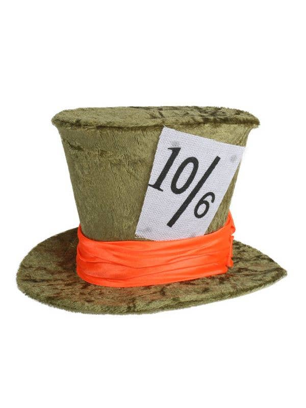 Deluxe Green Mad Hatter Hat  ed73edf99c75