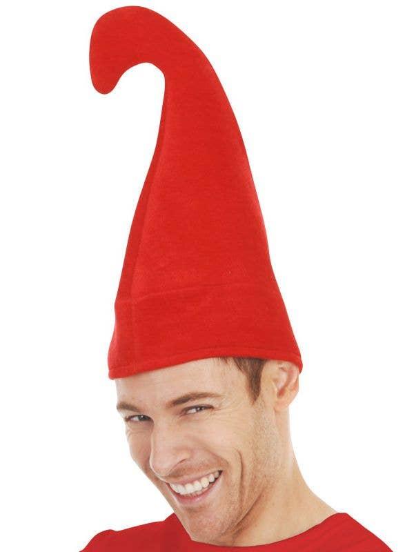 1885919b97c Plush Red Gnome Costume Hat